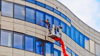 Fassade Fenster reinigen industrie